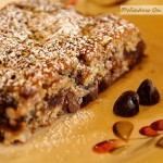 Chocolate Date Bars