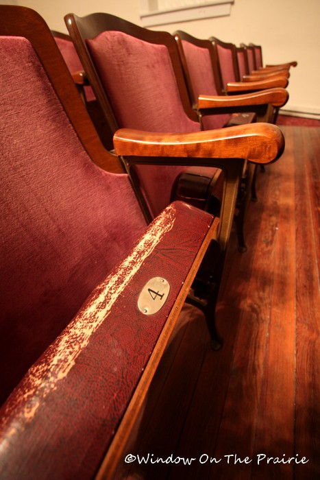 Pick a seat at the Waterville Opera House