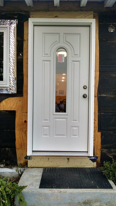 Our new front door